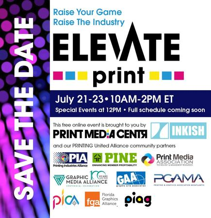Elevate Print - Rescheduled to Aug 25-27